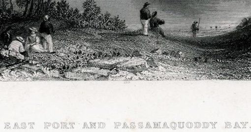 wykonany w 1839 roku przez artystów: W.H. Barlett