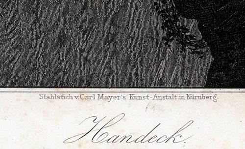 wykonana w 1854 roku w technice stalorytu