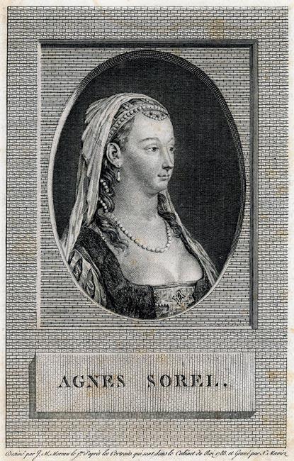 Portret wykonany w technice miedziorytu przez N. Maviez'a wg rysunku J.M. Moreau