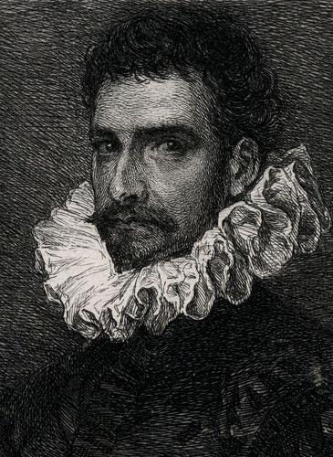 wykonana przez W. Ungera wg obrazu Tintoretta w II połowie XIX wieku.