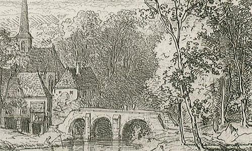 wykonana przez Augusta Geista około połowy XIX wieku.