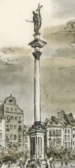 z najpiękniejszymi zakątkami stolicy. Wyd. Sztuka 1956.