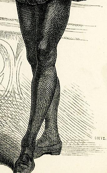 wykonana w II połowie XIX wieku w technice drzeworytu sztorcowego