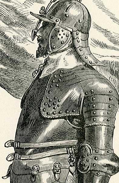 przedstawiająca niemieckie wojsko z lat 1630-1650.
