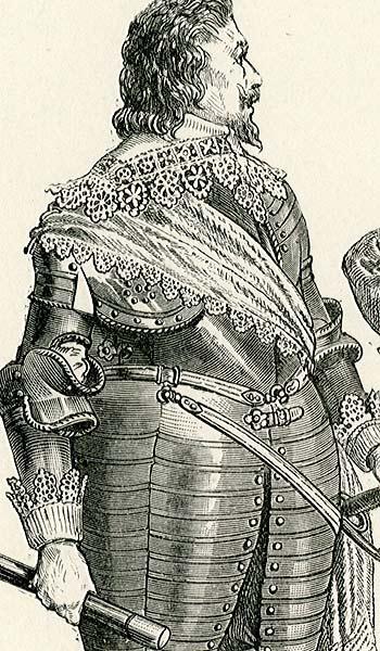 przedstawiająca niemiecką straż książęcą  z lat 1625-1640.
