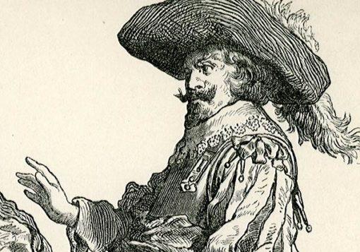 przedstawiająca stroje angielskiej i flamandzkiej szlachty z I połowy XVII wieku.