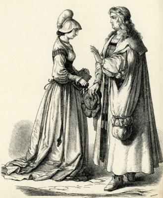Grafika wykonana w II połowie XIX wieku w technice drzeworytu sztorcowego