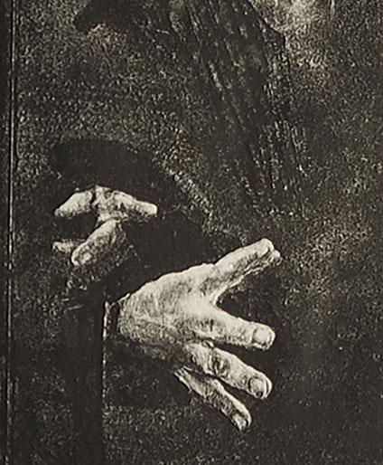 wykonana przez Annę Puchalską w technice monotypii w  latach 1970-80