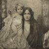 Heliograwiura z początku XX wieku wykonana na podstawie obrazu Rudolfa Fuchsa z 1904 roku.