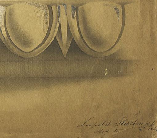 sygnowany przez Leopolda Tlachnę w 1867 roku