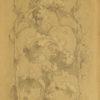 Rysunek z przedstawieniem symetrycznie ułożonego ornamentu roślinnego