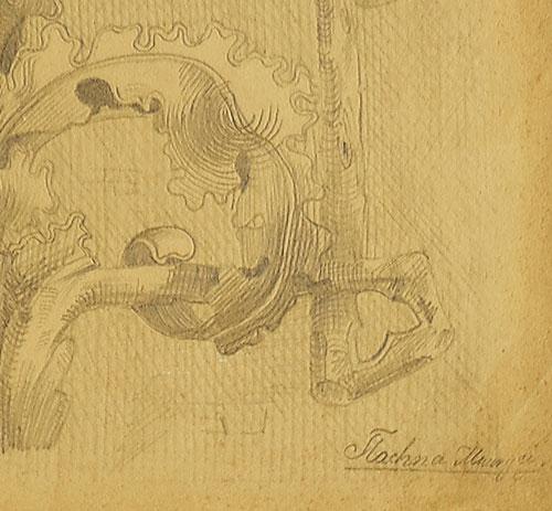 wykonany  w latach 1860-80 przez Maurycego Tlachnę