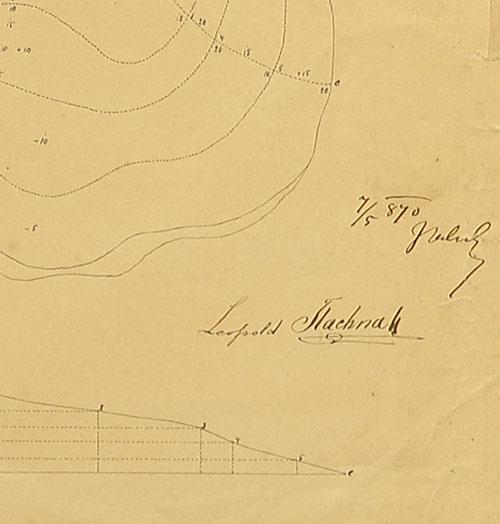 przedstawiająca fragment wzniesienia na mapie topograficznej