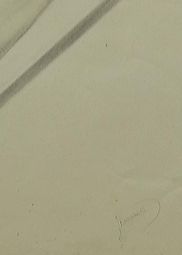 przedstawiający studium anatomiczne męskiego ramienia. Sygnowany w prawym dolnym rogu: J. Gomoliński