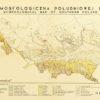 Mapa morfologiczna południowej części Polski wydana przed wydawnictwo M. Klimaszewski w latach 70-tych