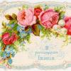 XIX-wieczny bilecik wizytowy