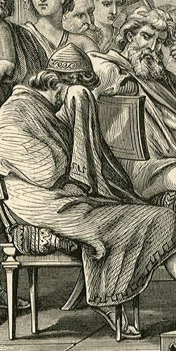 wykonana w technice drzeworytu sztorcowego w 1871 r. przez F. Szymborskiego.