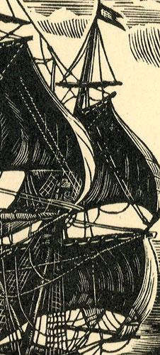 """przedstawiający holenderski okręt barokowy """"Emilia"""" z 1634 r."""