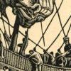 przedstawiający statek ludów Północy