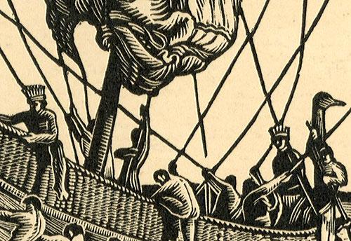 przedstawiający holenderski okręt kompanii wschodnio-indyjskiej