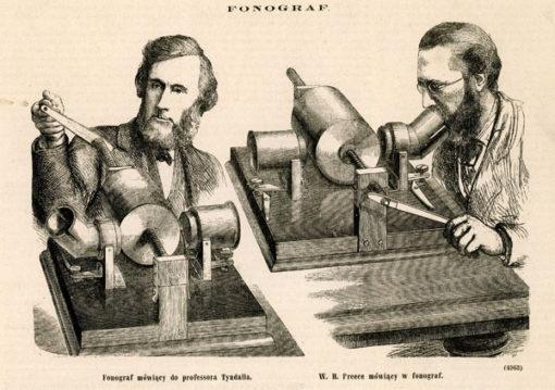Grafika w technice drzeworytu sztorcowego wykonana w 1878