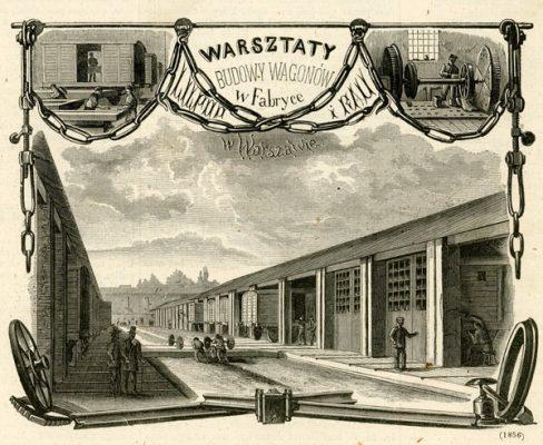 Grafika w technice drzeworytu sztorcowego wykonana w latach 1880-tych