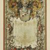 Niemiecka secesyjna litografia z 1897 r. zatytułowana