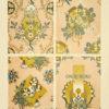 Secesyjna litografia z 1897 r. zatytułowana