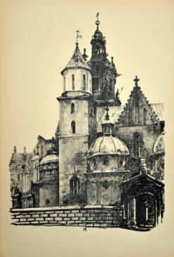 Oryginalna grafika wykonana w technice litografii w 1926 roku i wydana przez Muzeum Narodowe w Krakowie. Grafikę wykonał JAN KANTY GUMOWSKI w 1926 roku.