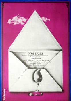 "Plakat filmowy ""Dom lalki"" Rene Mulas"