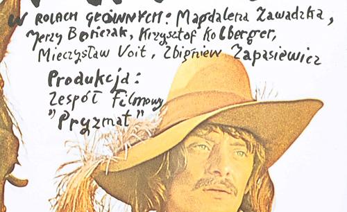 """do filmu """"Mazepa"""" wg tragedii Juliusza Słowackiego w reżyserii Gustawa Holoubka. W rolach głównych Magdalena Zawadzka"""
