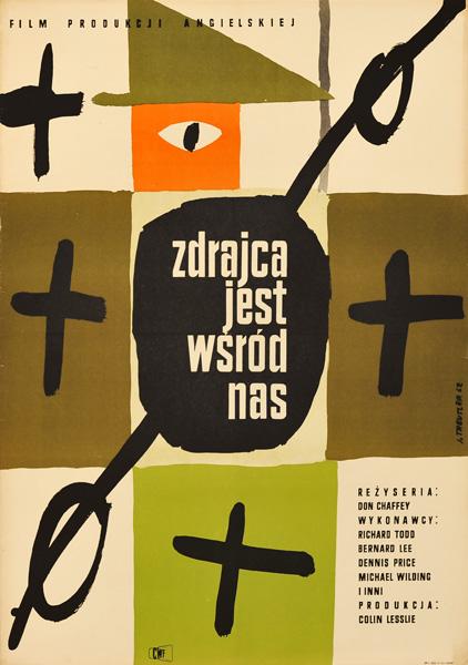 Polski plakat filmowy z 1962 roku