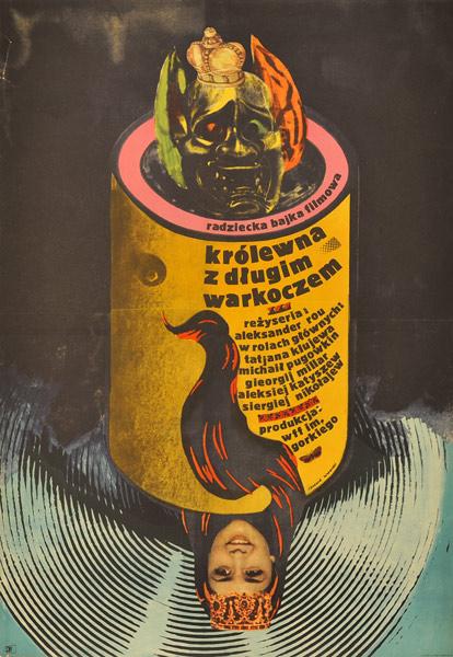 Oryginalny polski plakat filmowy z 1970 roku