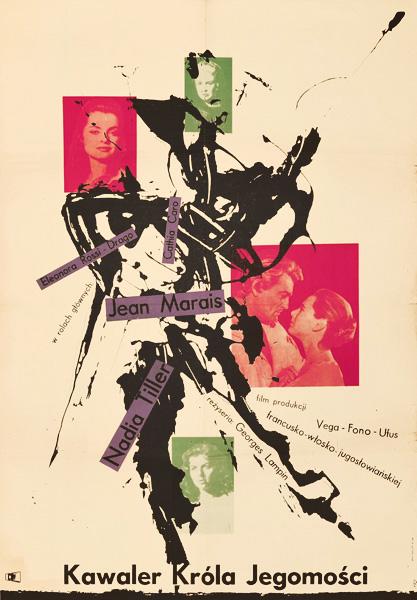 Oryginalny polski plakat filmowy z 1958 roku