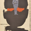 Oryginalny polski plakat do filmu produkcji polskiej Ostatni strzał (reżyseria Jan Rybkowski). Autor plakatu: Wojciech Zamecznik
