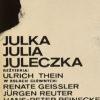 Juleczka (reżyseria Ulrich Thein). Projekt plakatu: Włodzimierz Terechowicz