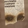 Oryginalny polski plakat do filmu rumuńskiego Pocztówka z polnymi kwiatami (reżyseria Andrei Blaier). Projekt plakatu: LECH MAJEWSKI