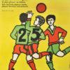 Plakat filmowy do radzieckiego filmu dla dzieci i młodzieży