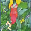 """Plakat filmowy do włoskiego filmu """"Spokojne miejsce na wsi"""". Reżyseria: Elio Petri. Projekt plakatu: MARIA IHNATOWICZ MUCHA"""