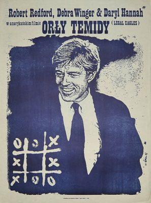 """Plakat filmowy do amerykańskiego filmu """"Orły Temidy"""". Reżyseria: Ivan Reitman. Projekt plakatu: JAKUB EROL"""