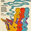 Plakat filmowy do czechosłowackiego filmu