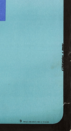 Szczecin 26-29. 09. 1974. Projekt: K. KARDASIŃSKI