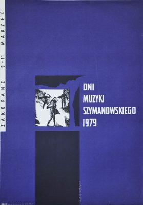 Plakat zapowiadający Dni Muzyki Szymanowskiego