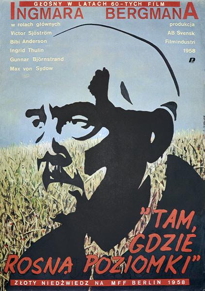 """Oryginalny plakat filmowy do filmu szwedzkiego z 1957 r. """"Tam"""