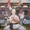 Oryginalny plakat filmowy z 1984 r. do chińskiego filmu