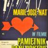 Plakat filmowy do francusko-włoskiego filmu
