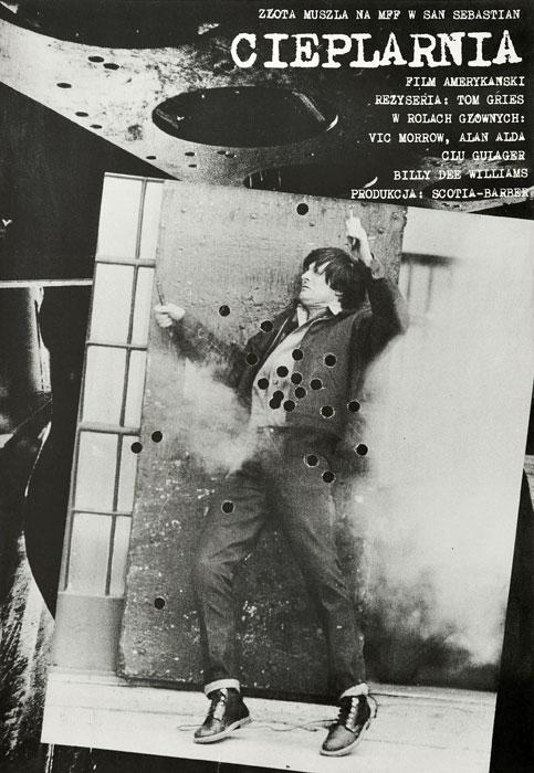 """Oryginalny polski plakat filmowy do amerykańskiego filmu """"Cieplarnia"""". Reżyseria: Tom Gries. Projekt: plakat niesygnowany"""