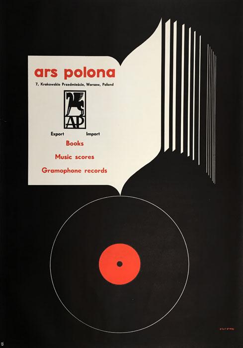 """Oryginalny polski plakat wydawnictwa """"Ars Polona"""