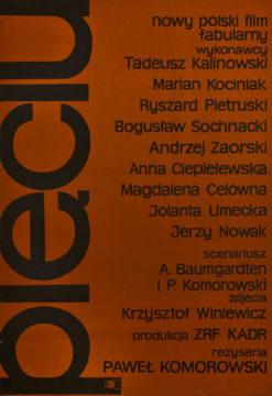 """Oryginalny polski plakat filmowy do polskiego filmu """"Pięciu"""". Reżyseria: Paweł Komorowski. Projekt plakatu: WIKTOR GÓRKA"""