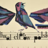 Plakat okolicznościowy informujący o Festiwalu Chórów Polskich w Poznaniu 5 - VII 1962. Projekt: JERZY RYBARCZYK